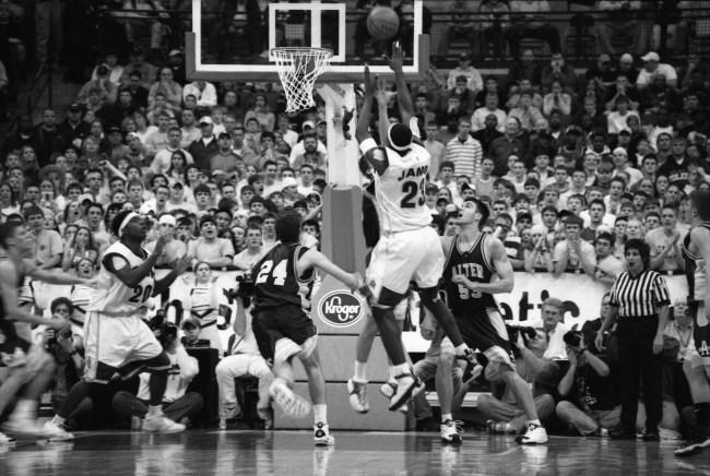 LeBron James High School Basketball Akron