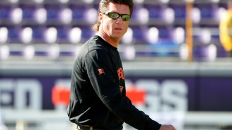 Oklahoma State Coach And Mullet Enthusiast Mike Gundy Flips Out On Reporter Who Asked Question About His Luscious Beaver Paddle