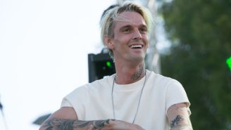 Aaron Carter Debuts Massive Face Tattoo Amidst Extreme Family Drama