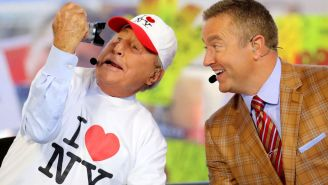 Lee Corso Lives His Best Life During College Gameday Weekends With Junk Food, Cigars And At Least 11 Hours Of Sleep