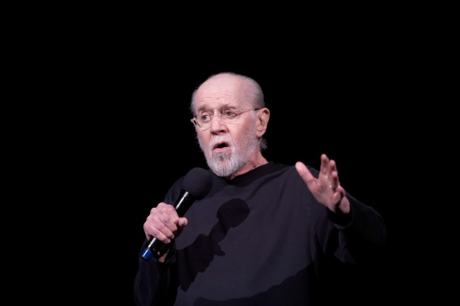 George Carlin's recorded a comedy special a day before 9/11 and his most controversial album I Kinda Like It When a Lotta People Die was not released until after the legendary comedian's death.