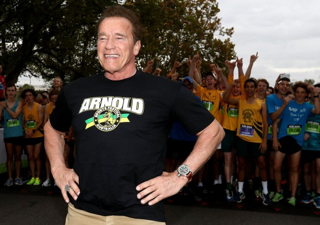 Arnold Schwarzenegger revealed his diet, protein shake, daily workout and thoughts on crossfit.