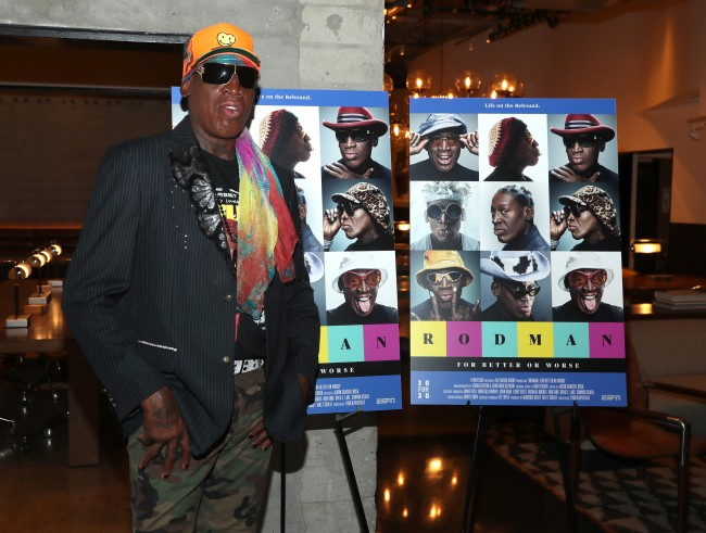 Here's how to watch Dennis Rodman's new 30 for 30 online on ESPN+
