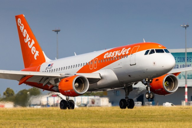 Off-duty EasyJet pilot Michael Bradley saved the day when a pilot missed the flight and he flew the plane himself.