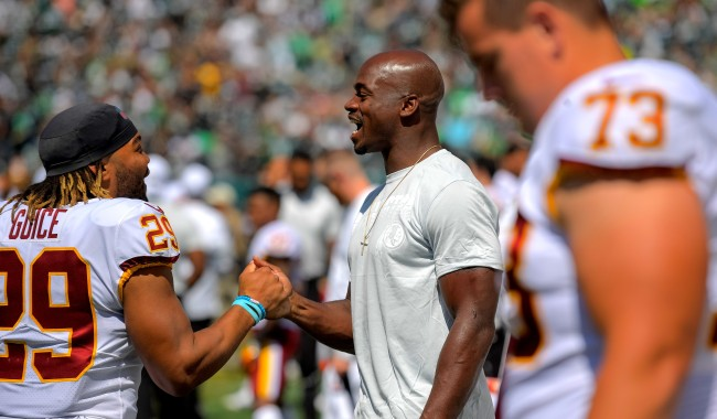 Jay Gruden On Why Adrian Peterson Was Inactive Lineman Rips Decision
