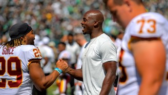 Jay Gruden Had A Savage Response To Why Adrian Peterson Was Inactive; Redskins Offensive Lineman Blasts Decision