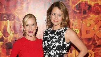 Threat Level Midnight: Jenna Fischer And Angela Kinsey Are Starting A New 'The Office' Podcast