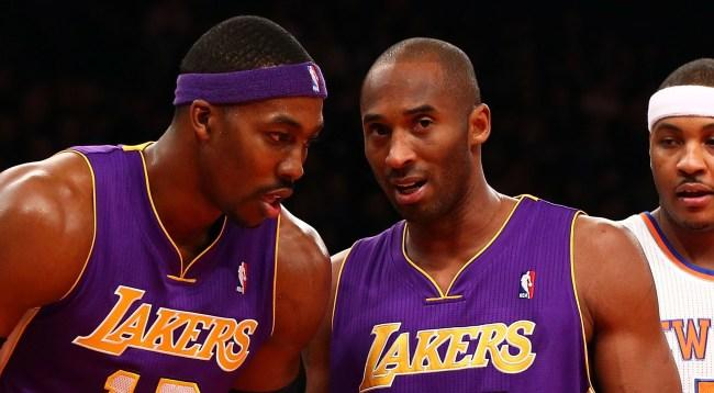 Kobe Bryants Advice For Dwight Howard In Lakers Return Get Better