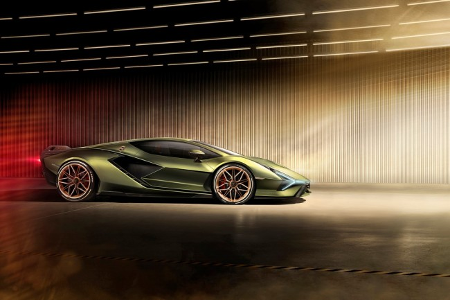Lamborghini Sian First Hybrid Supercar