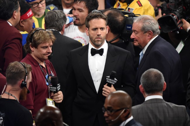 Max Kellerman claims track & field's only a sport for failed athletes