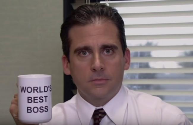 The Office Tribute Michael Scott World's Best Boss