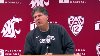 Mike Leach Offends People With OCD, The State Of California, And Analyzes A Mascot Fight, All In One Day
