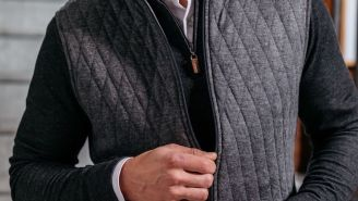 IT'S VEST SEASON And Mizzen+Main Just Launched New Performance Vests For The Most Comfortable Time Of The Year
