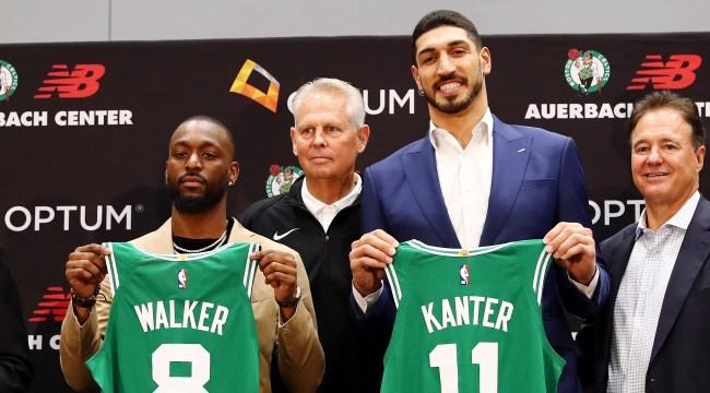 New Celtic Enes Kanter Trolls Knicks Fans Wins WWE 24-7 Championship