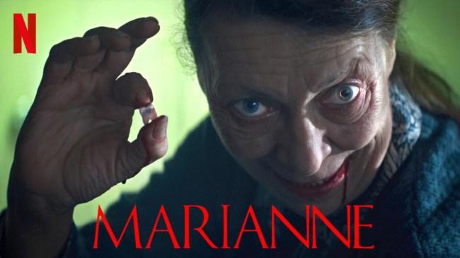 New Netflix Horror Series Marianne Reviews