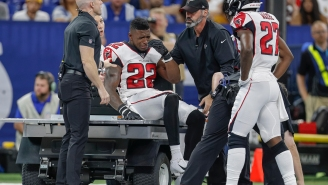 NFL Refs Called A Terrible Penalty On Falcons' Keanu Neal As He Laid In Agony After Tearing His Achilles