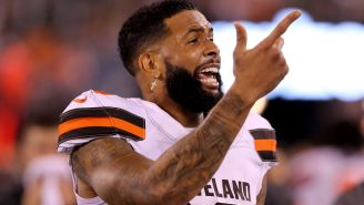 Odell Beckham Jr. Had The Perfect Response About His Feud With Gregg Williams After MNF Game