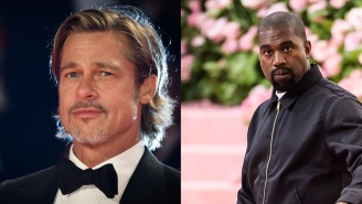 Apparently, Brad Pitt And Kanye West Have Been Bros 'For A While'