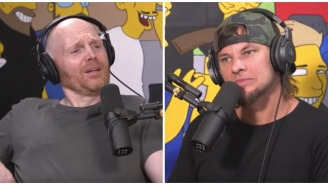 Bill Burr Is Getting Ripped For Treating Theo Von Like A Nobody In Very Awkward Interview