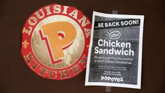 Popeyes Came Up With The World's Dumbest Solution To Solve Its Sold-Out Chicken Sandwich Problem
