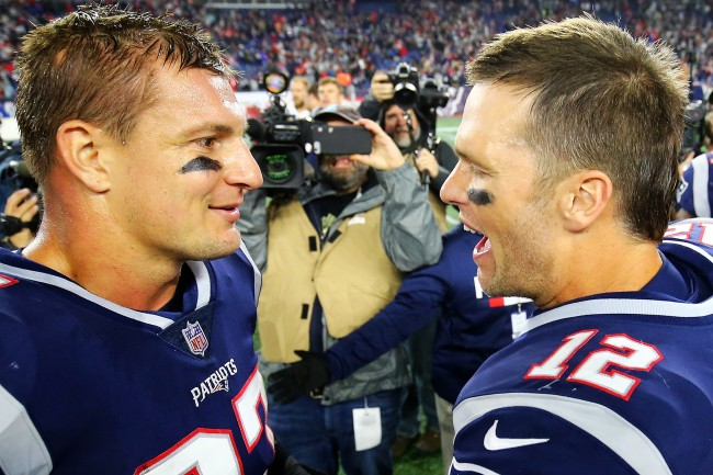 Rob Gronkowski jokes about what it would take for Tom Brady to convince him to come out of retirement