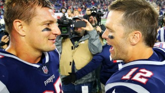 Rob Gronkowski Jokes About Getting Rubbed Down By Tom Brady And Only Playing Five Plays A Game If He's To Come Out Of Retirement