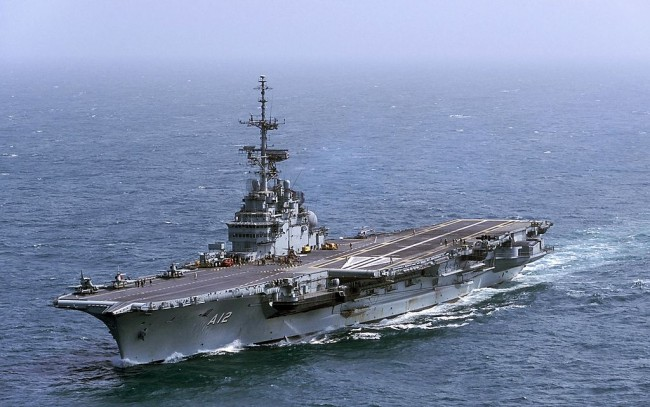 Brazil's Ministry of Defense are selling off retired aircraft carrier São Paulo, auction bids start at $1.275 million