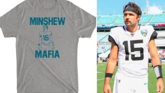 These Gardner Minshew 'Minshew Mafia' Tri-Blend Tees Are A Perfect Tribute To A Man Who's Inspired A Nation