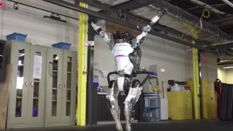 Boston Dynamics' Atlas Robot Can Now Perform A Flawless Gymnastics Routine