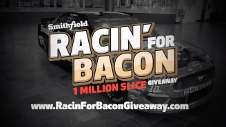 Smithfield Is Pledging To Giveaway 1 Million Slices Of Bacon *If* Aric Almirola Wins at Talladega