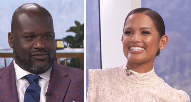 Shaquille ONeal Shoots His Shot With Daily Pop Guest Host Rocsi Diaz