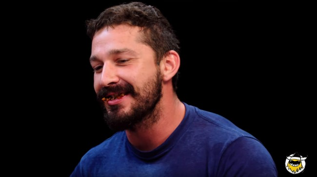 Shia LaBeouf Took First We Feast Hot Ones Challenge