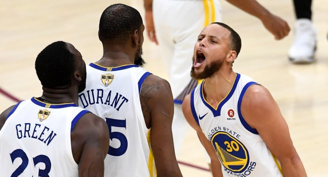 Steph Curry Responds To Kevin Durants Whining About The Warriors