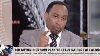Stephen A. Smith's Crucifixion Of Antonio Brown Is Absolutely Glorious: 'I've Never Seen Selfishness Like This'