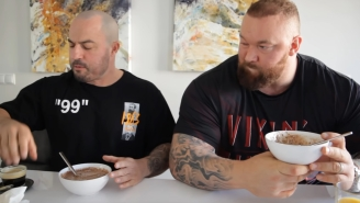 'The Mountain' Tries To Consume 17,000 On His Cheat Day And Someone Please Try This It Home