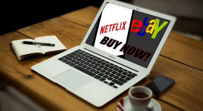 Your Netflix Account May Be Up For Auction On eBay