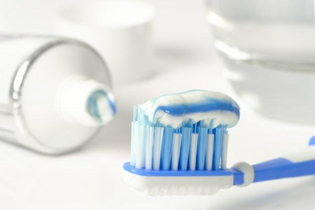 toothpaste genitals