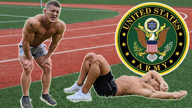 Two Bodybuilders Tried To Complete The US Army Physical Fitness Test