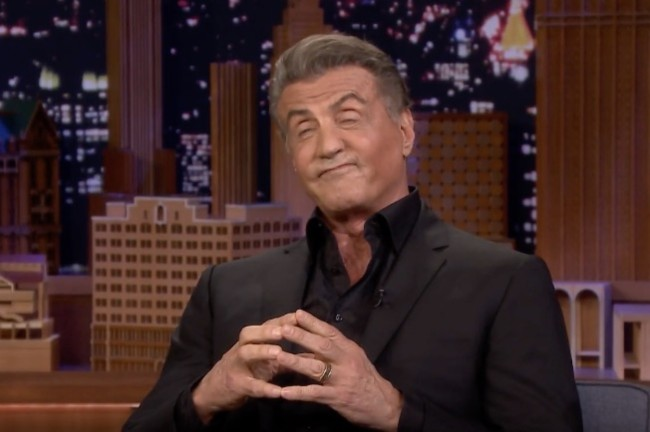 Sylvester Stallone interview