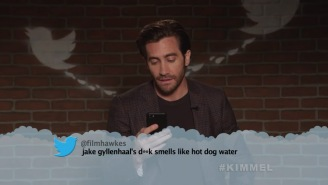 Movie And TV Stars Read More Mean Tweets, And Apparently 'Jake Gyllenhaal's D**k Smells Like Hot Dog Water'