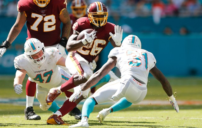 Adrian Peterson Made Case Keenum Reverse His Audible Call Vs Dolphins