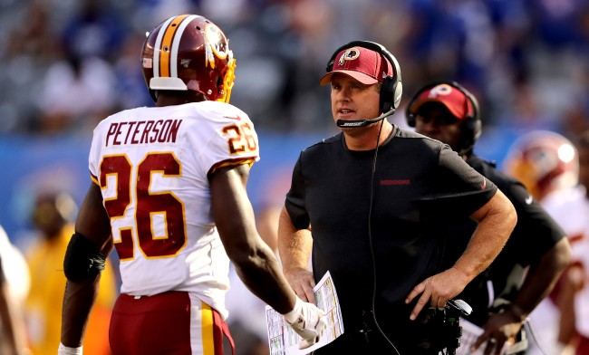 Adrian Peterson Ripped Washington Game Plan In Loss To Patriots
