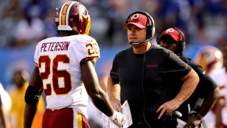 Adrian Peterson Blasts Washington's Game Plan In Patriots Loss, Anonymous Player Agrees With Gruden Firing