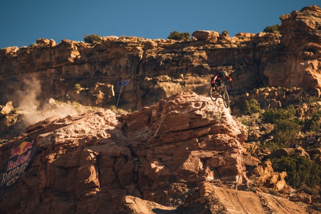 Kyle Strait at Red Bull Rampage