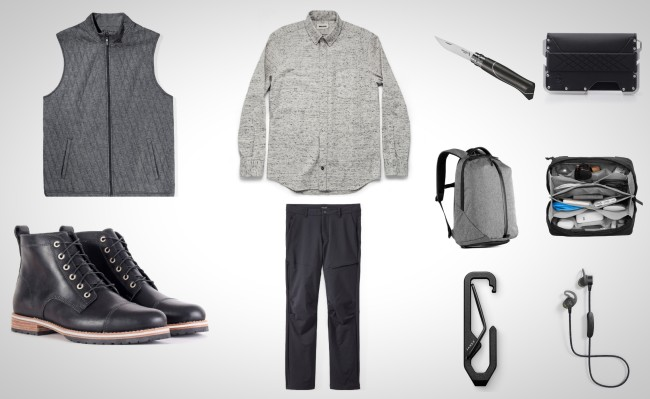 best everyday carry gear black and grey