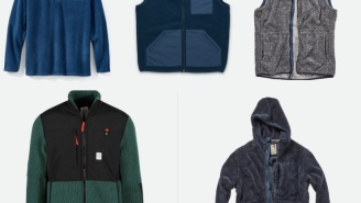 Ask Santa To Bring You One Of These 5 Comfortable Fleece Layers For The Holidays