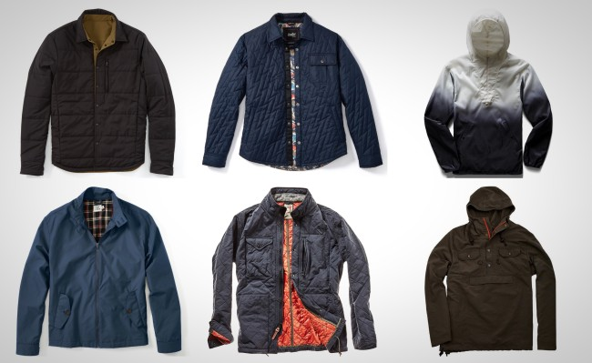 best men's lightweight jackets for Fall Winter and Spring