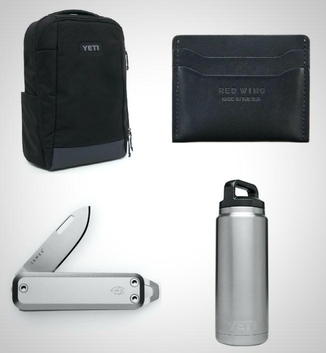 best black grey steel everyday carry gear