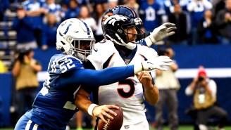 Broncos Claim Joe Flacco Won't Start On Sunday Because Of A Neck Injury, No One Believes Them
