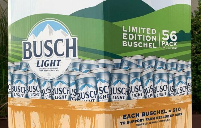 busch light 56 pack